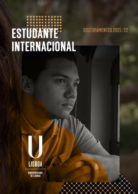 Folheto Estudante Internacional - Doutoramentos 2021/22