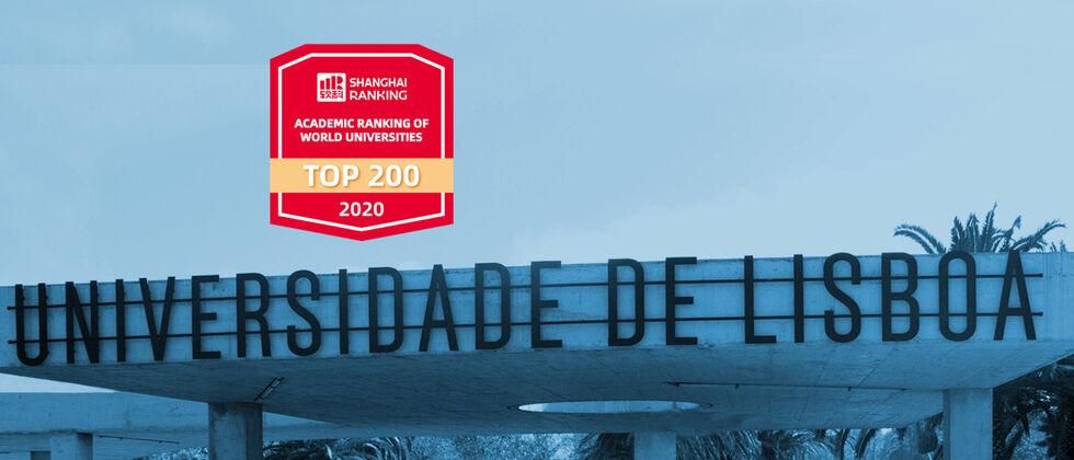 A Universidade de Lisboa na lista das 200 melhores do mundo