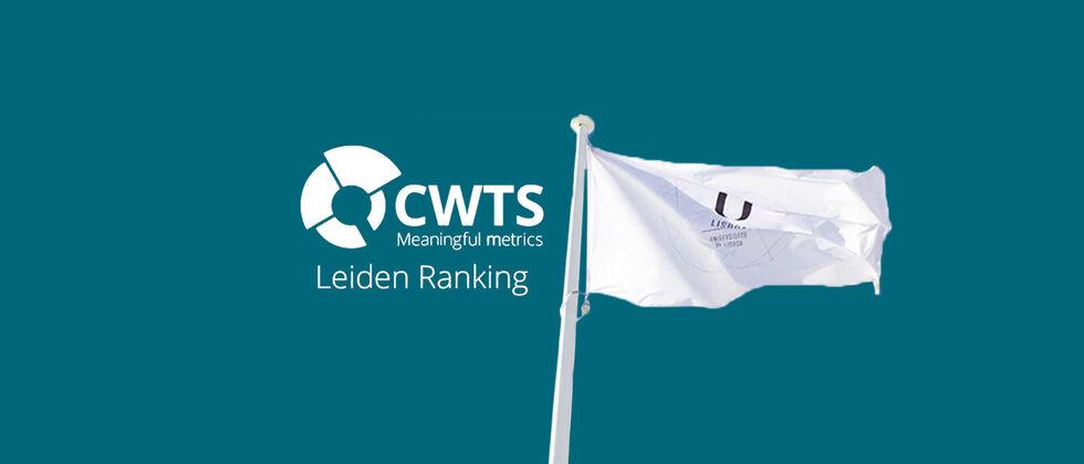 A Universidade de Lisboa está no 131º lugar a nível mundial e lidera o Ranking de Leiden na Península Ibérica