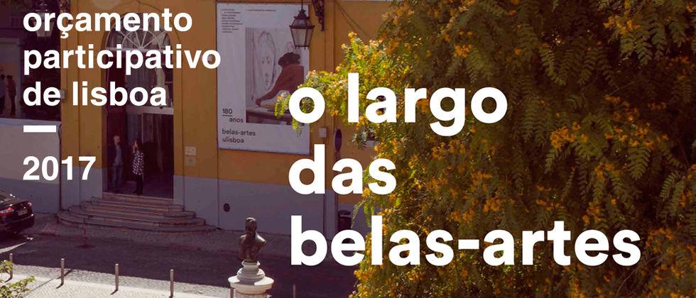 O Largo das Belas-Artes - Orçamento Participativo de Lisboa 2017