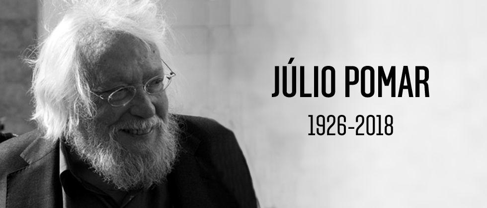 Falecimento do Pintor Júlio Pomar