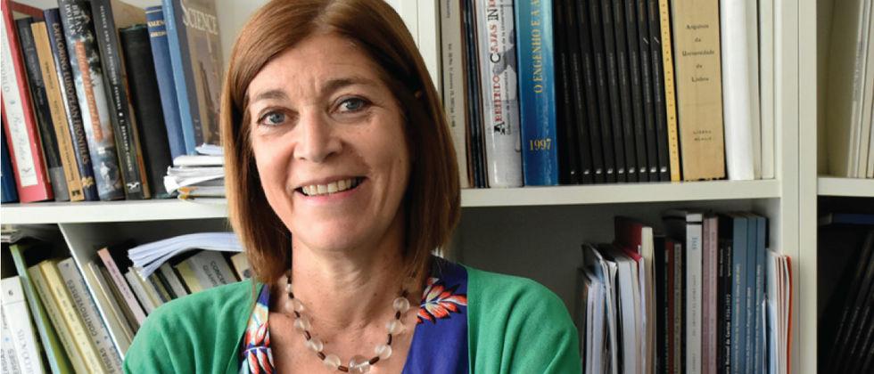 Ana Simões é presidente da European Society of History of Science