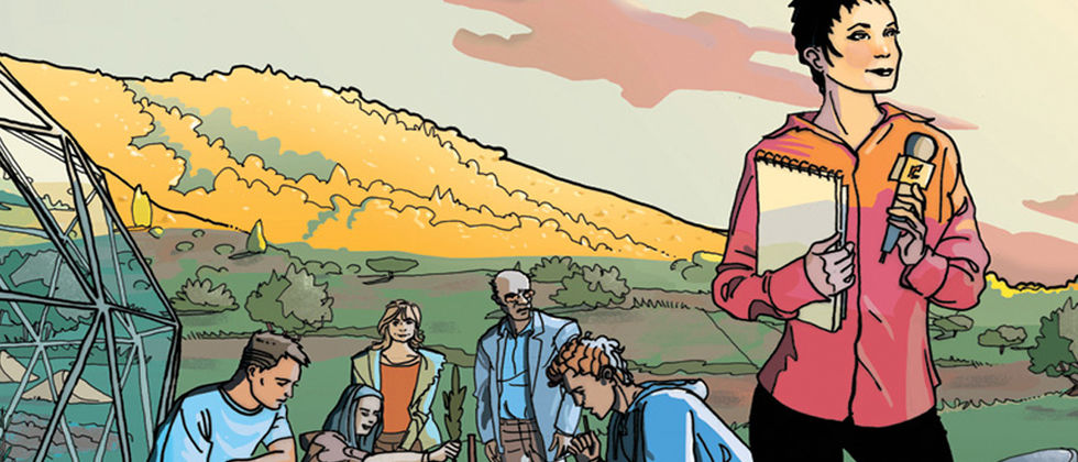 Melhor desenho atribuído a banda desenhada sobre alterações climáticas