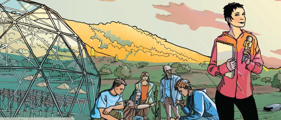 Banda desenhada portuguesa sobre alterações climáticas nomeada para prémio internacional