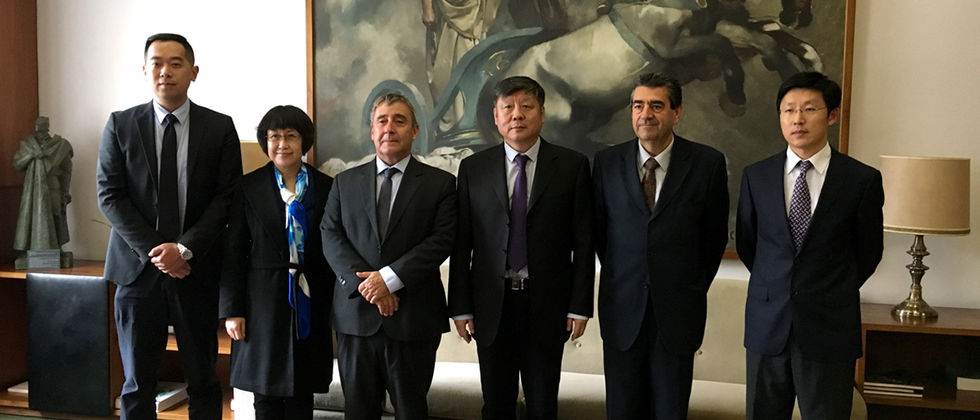 Comitiva da China Scholarship Council visita a ULisboa 2017