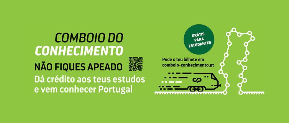 O Comboio do Conhecimento de Portugal (CP)