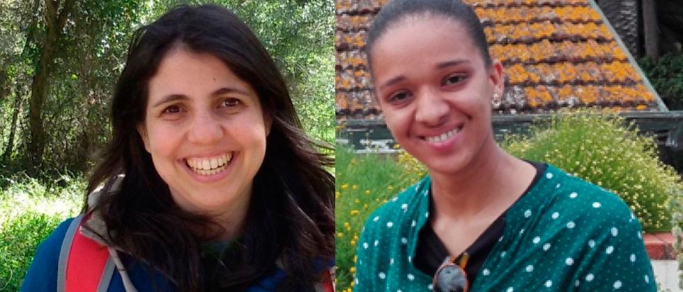 As duas nomeadas por Portugal ao Prémio GBIF Jovens Investigadores 2019 fazem parte do cE3c