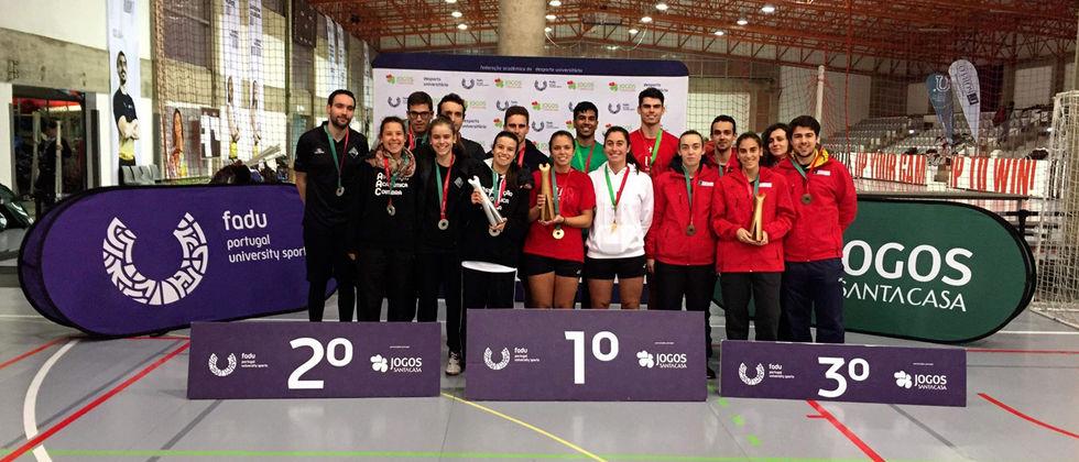 ULisboa Tetracampeã Nacional Universitária de Badminton