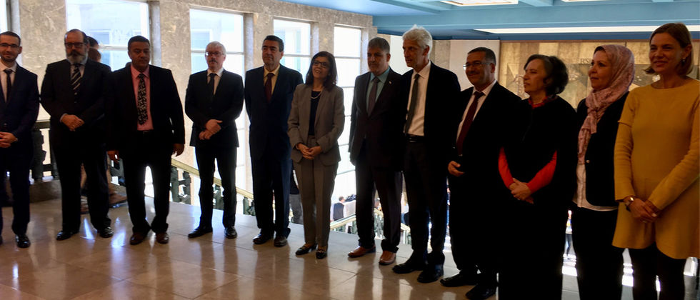 El Oued University Visit to ULisboa