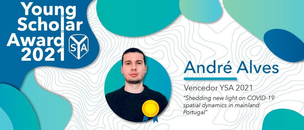 André Alves, estudante do IGOT, vence YSA 2021