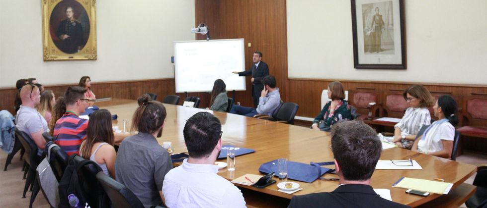 Sessão de Boas-Vindas aos estudantes Americanos que ingressam na ULisboa através do projeto Study in Portugal Network (SiPN).