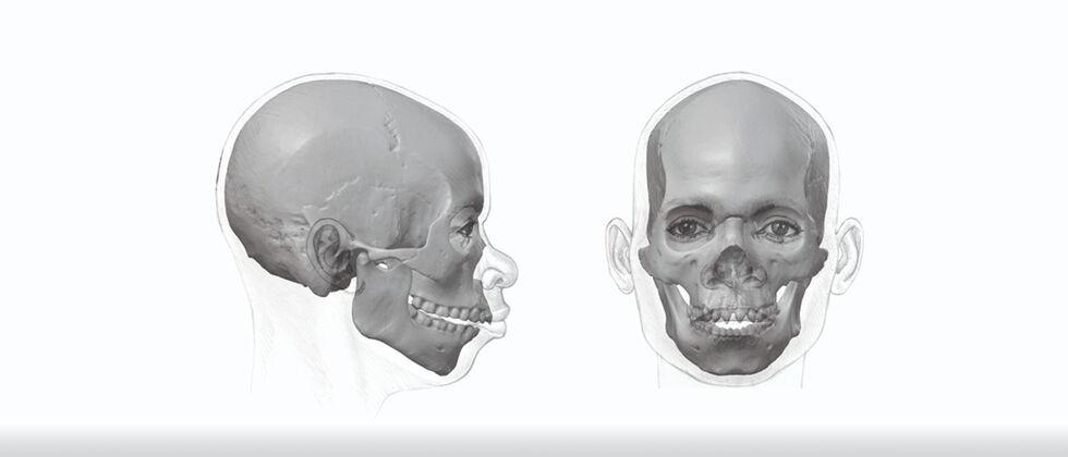 MUHNAC participa em projeto de reconstituição facial de crânios
