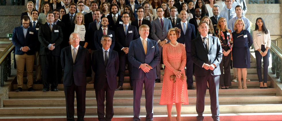 Visita oficial dos reis dos Paises Baixos à ULisboa