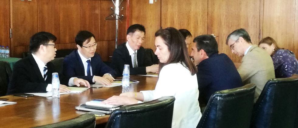 Yangzhou University visita ULisboa