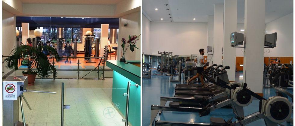 Reabertura da Academia de Fitness e Complexo Desportivo da Ajuda