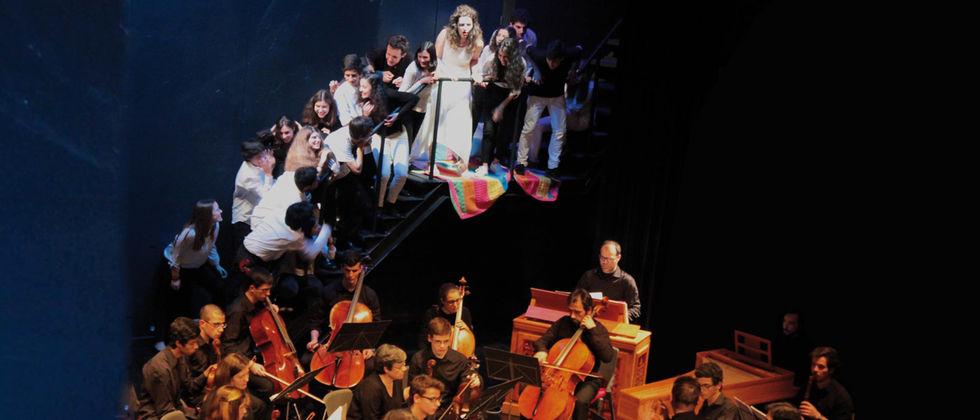 A viagem de Orfeu   Récita de Ópera a favor da Associação Ciências Solidária