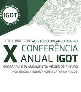 X Conferência Anual do IGOT