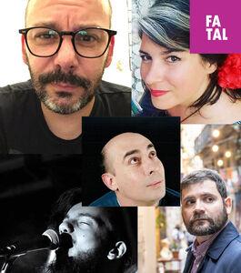 Rui Pires, Ana Isabel Augusto, Júlio Martín, Diogo Figueiredo e Alberto Rizzo