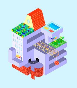 Ateliers para crianças - a construção da cidade ideal
