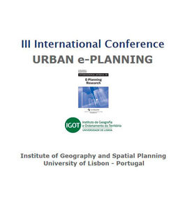 "III International Conference ""Urban E-Planning"""