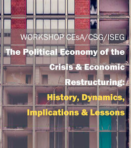 Workshop | The Political Economy of the Crisis & Economic Restructuring