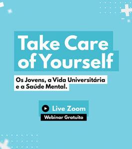 """Webinar Gratuito U-Qualify: """"Os Jovens, a vida universitária e a saúde mental"""