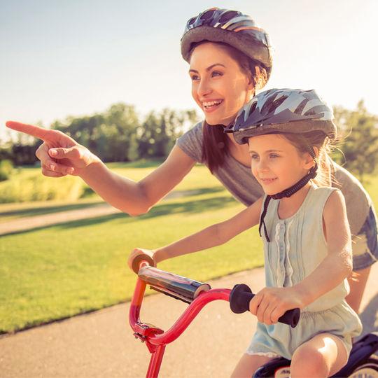Bike Orientação para pais e filhos