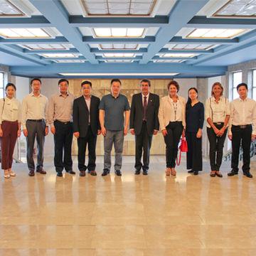 Visita de comitiva do Municipio de Guanzhou à ULisboa