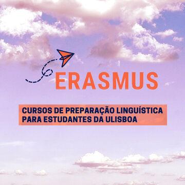 ERASMUS: Inscrições abertas para os cursos de preparação linguística