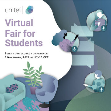 Unite! Virtual Fair for students – Build your global competence