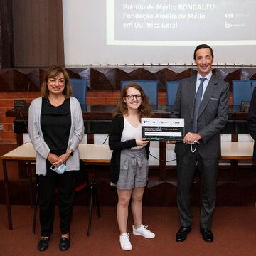 Estudante do Instituto Superior Técnico galardoada com o Prémio de Mérito Bondalti /Fundação Amélia de Mello