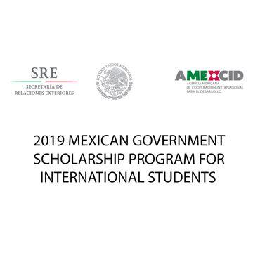 Bolsas de Excelência do Governo do México para Estrangeiros 2019
