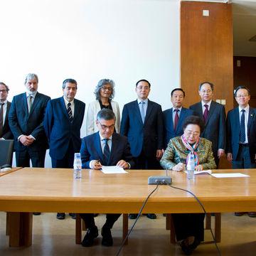 O International Centre for Bamboo and Rattan (ICBR) e International Bamboo and Rattan Organisation (INBAR) visitaram a ULisboa