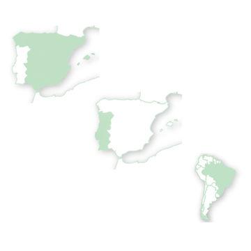 Mapa de risco para Portugal