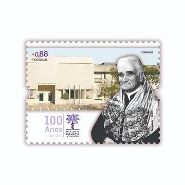 CTT emitem selo comemorativo do Centenário da Faculdade de Farmácia da ULisboa