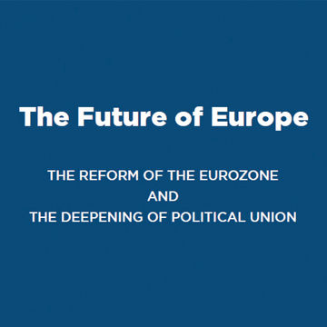 "Livro ""The Future of Europe: The Reform of the Eurozone and The Deepening of Political Union"""