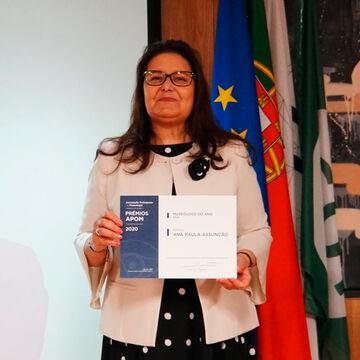 Ana Paula Assunção recebe distinção da APOM, como Museóloga do Ano
