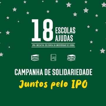 18 Escolas, 18 ajudas: Juntos pelo IPO