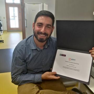 Aluno de Engenharia Biomédica e Biofísica vence Innovation Award