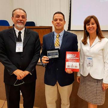 """José Manuel Florêncio Nogueira premiado com a """"Medalha Dr. Janusz Pawliszyn"""""""
