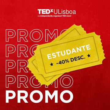 Bilhetes TEDxULisboa com desconto para Estudantes